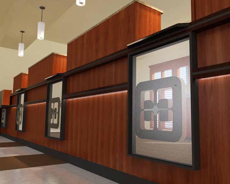 modular banking furniture