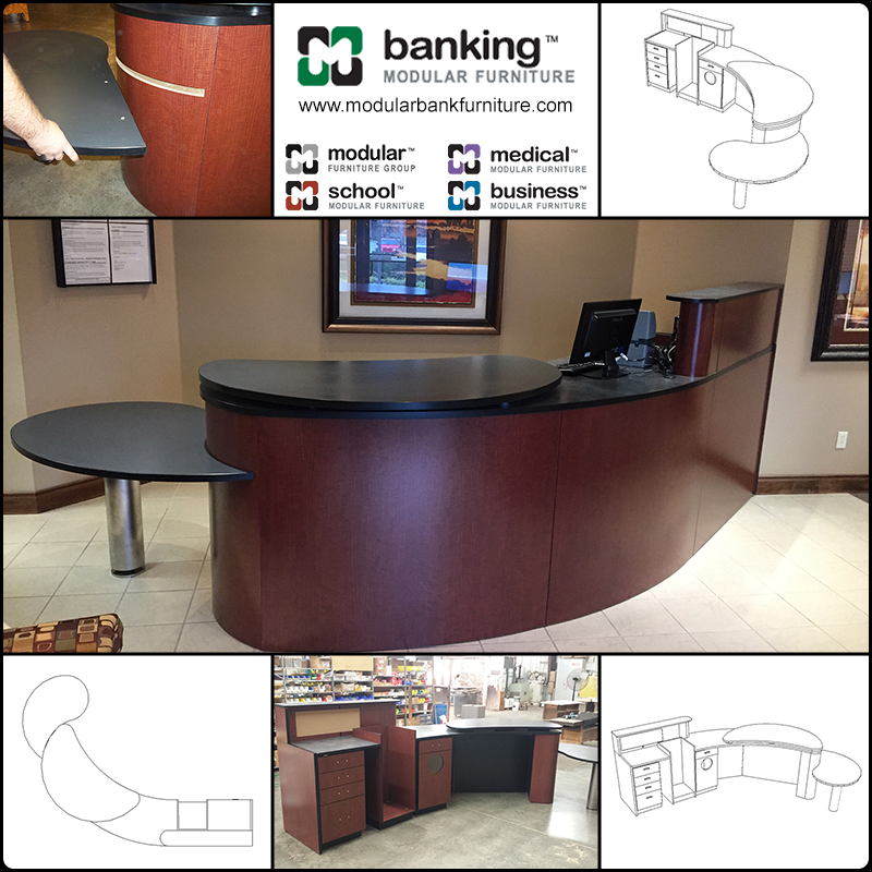Brad Byington 2 2 Modular Bank Furniture